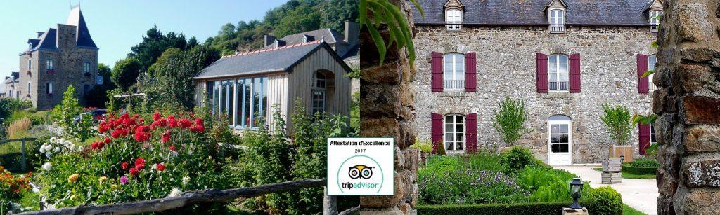 Attestation d'excellence TripAdvisor Bretagne France
